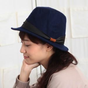 2個1000円引き/帽子/無地シンプルフェルトハット中折れハット中折れ帽/メンズレディース inak0092