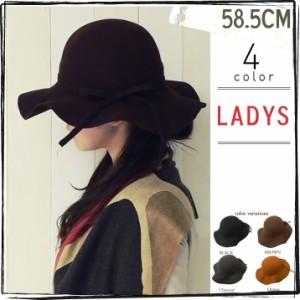2個1000円引き/帽子リボン付きクラシカルハットlhat0037 []