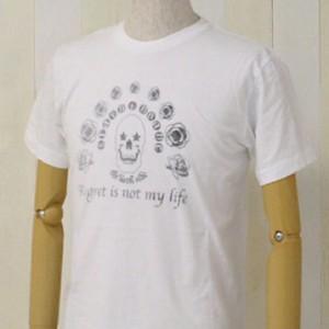 [メール便]deuse限定 メンズコラボTシャツ 「Skull」 ANDE-002 vani0001