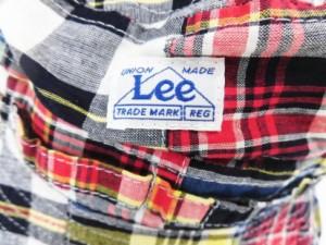 【送料無料】Lee×StompStamp パッチワークハット あご紐付き (50・54cm)