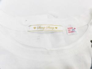 【送料無料】ミニオン×StompStamp 天竺ワンピース 子供用 転写 プリント 長袖