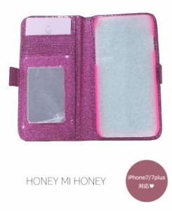 ハニーミーハニー HONEY MI HONEY  crossheart book iphonecase iphone7/7plus iphone7 iphone7plus