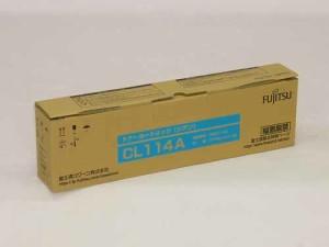 純正FUJITSU トナーカートリッジCL114Aシアン