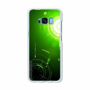 Galaxy S8 SCV36 SC-02J共用 ハードケース/カバー 【エレクティカGreen PCクリアハードカバー】 スマートフォンカバー・ジャケット