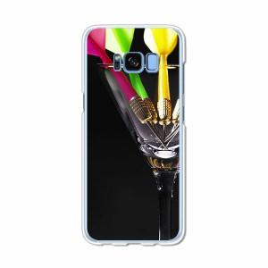Galaxy S8 SCV36 SC-02J共用 ハードケース/カバー 【Darts PCクリアハードカバー】 スマートフォンカバー・ジャケット