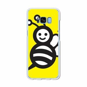Galaxy S8 SCV36 SC-02J共用 ハードケース/カバー 【ハニーBee PCクリアハードカバー】 スマートフォンカバー・ジャケット