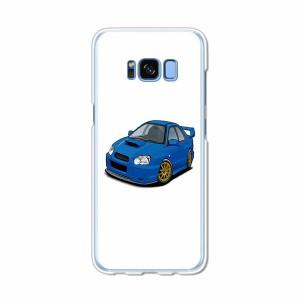 Galaxy S8 SCV36 SC-02J共用 ハードケース/カバー 【IMPWRC PCクリアハードカバー】 スマートフォンカバー・ジャケット