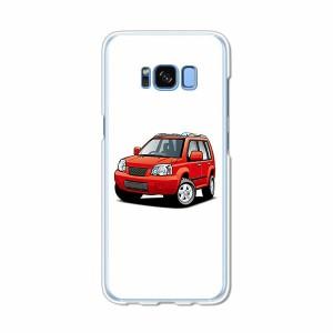 Galaxy S8 SCV36 SC-02J共用 ハードケース/カバー 【X4WD PCクリアハードカバー】 スマートフォンカバー・ジャケット