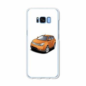 Galaxy S8 SCV36 SC-02J共用 ハードケース/カバー 【M4WD PCクリアハードカバー】 スマートフォンカバー・ジャケット