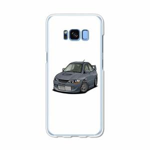 Galaxy S8 SCV36 SC-02J共用 ハードケース/カバー 【EVOWRC PCクリアハードカバー】 スマートフォンカバー・ジャケット