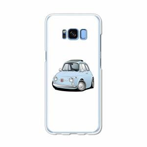 Galaxy S8 SCV36 SC-02J共用 ハードケース/カバー 【チンクFT PCクリアハードカバー】 スマートフォンカバー・ジャケット