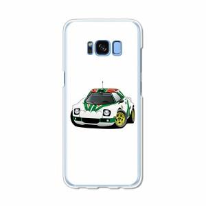 Galaxy S8 SCV36 SC-02J共用 ハードケース/カバー 【RStratos PCクリアハードカバー】 スマートフォンカバー・ジャケット