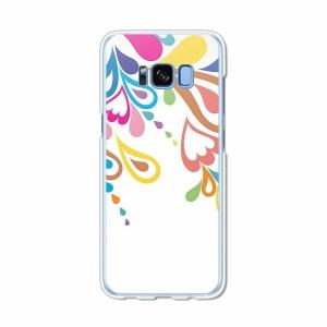 Galaxy S8 SCV36 SC-02J共用 ハードケース/カバー 【FlashFlash PCクリアハードカバー】 スマートフォンカバー・ジャケット