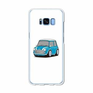Galaxy S8 SCV36 SC-02J共用 ハードケース/カバー 【Mini PCクリアハードカバー】 スマートフォンカバー・ジャケット
