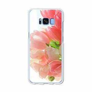 Galaxy S8 SCV36 SC-02J共用 ハードケース/カバー 【フラワーアレンジ PCクリアハードカバー】 スマートフォンカバー・ジャケット