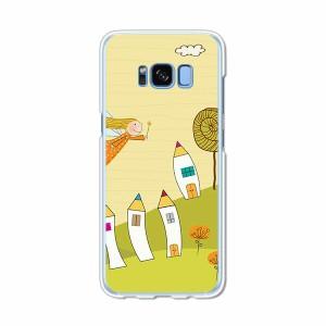 Galaxy S8 SCV36 SC-02J共用 ハードケース/カバー 【POPGirl PCクリアハードカバー】 スマートフォンカバー・ジャケット