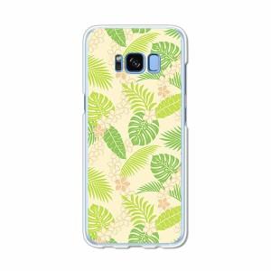 Galaxy S8 SCV36 SC-02J共用 ハードケース/カバー 【南国 PCクリアハードカバー】 スマートフォンカバー・ジャケット