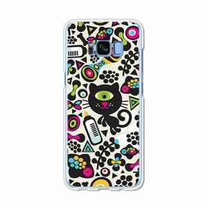 Galaxy S8 SCV36 SC-02J共用 ハードケース/カバー 【モンスターキャット PCクリアハードカバー】 スマートフォンカバー・ジャケット