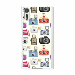 Xperia XZs SOV35 SO-03J 602SO共用 ハードケース/カバー 【TOYカムズ PCクリアハードカバー】 スマートフォンカバー・ジャケット