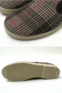 DVS SHOE (ディーブイエス) x Clitentele SLIP BROWN TWEED