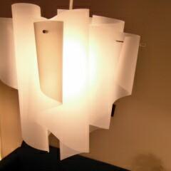送料無料!インテリア照明おしゃれ天井北欧照明ペンダント照明 L(W51cm×H55cm)サイズ(ホワイト/アイス)中野照明商店