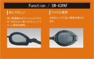 スイムグラス スモークシルバー ( SW43PAF-SMSI スイムグラス スモークシルバー / SWS )
