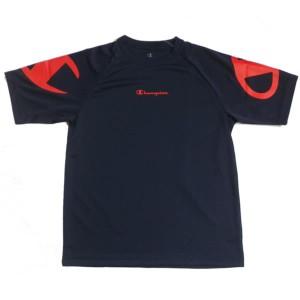 メンズ 半袖Tシャツ ネイビーxオレンジ/Lサイズ ( CM1263E_N_L / JSC10255067 )
