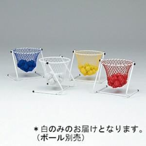 【ボール別売】カラーフロアバスケット 白 ( B-2033W / TOL10256354 )
