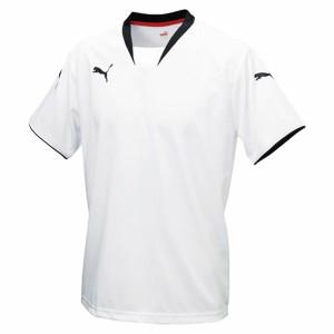 v - konジュニア半袖ゲームシャツ 05WHITE-BLAC 130 ( 903289-05-130 / JSP10266963 )