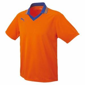 襟付き半袖ゲームシャツ 06ORANGE-BLU L ( 903299-06-L / JSP10267282 )