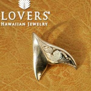※訳ありアイテム ハワイアンジュエリー LOVERS ラヴァーズ  ドルフィントップ S シルバー素材 アクセサリーペンダント