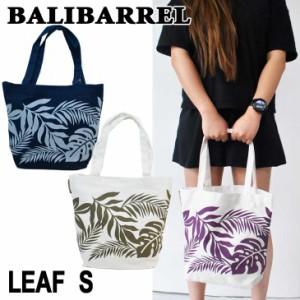 BALIBARREL バリバレル トートバッグ BAG LEAF リーフ Sサイズ バッグ エコバック キャンバス素材 サマー バッグ