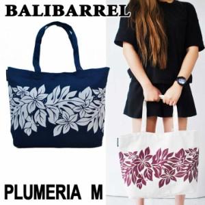 BALIBARREL バリバレル トートバッグ BAG PLUMERIA プルメリア Mサイズ バッグ エコバック キャンバス素材 サマー バッグ