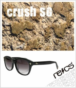 """recs サングラス レックス 【 crush SG 】 【5rs-recs-sp31-01sg】 【BLACK / WHITE 】 グラサン sunglasses"""