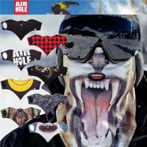 AIRHOLE FACEMASK STANDARD1 エアホール フェイスマスク デザインマスク 高性能 防寒 スノーボード