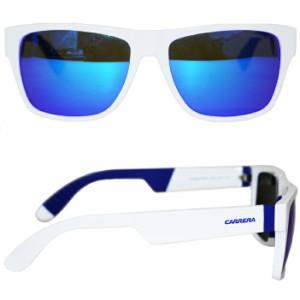 【送料無料】【CARRERA】カレラ アイウェア 5002/SP ホワイトブルー BLUE LENZ 正規代理店品 サングラス イタリア