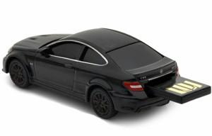 【送料無料】AUTODRIVE オートドライブ8GB メルセデスベンツ C63 AMG ブラック USBメモリー