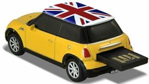 AUTODRIVE オートドライブ16GB MINI COOPER-S YELLOW/UK USBメモリー 外付けストレージ ミニクーパー