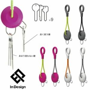 【ゆうパケット対応2個迄】【In Design】インデザイン キーホルダー KeyHolder キーリング 印デザイン キーホルダー