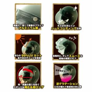 【RIDEZ】FINAL BUBBLE SHIELD ファイナルバブルシールド ジェットヘルメット用