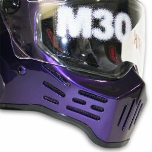 フリーライン SIMPSONヘルメット 特別カラー M30 PP HAZE2 57cm