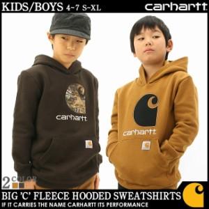 【BOYS/KIDS】 Carhartt カーハート パーカー キッズ 子供服 スウェット プルオーバー アメカジ ボーイズ キッズ 男の子 女の子