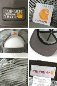 Carhartt カーハート キャップ 帽子 メンズ 迷彩柄 迷彩 キャップ メッシュキャップ スナップバックキャップ