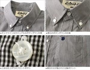 送料無料 3枚入り 福袋 メンズ 夏 2017 EAGLE THE STANDARD シャツ メンズ 半袖 大きいサイズ メンズ シャツ 半袖シャツ