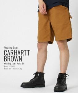 カーハート (Carhartt) ハーフパンツ メンズ デニム 大きいサイズ メンズ ハーフパンツ ペインターパンツ メンズ ハーフ