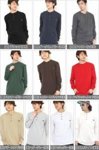 Dickies ディッキーズ tシャツ 長袖 メンズ ロンt アメカジ ヘンリーネック 長袖tシャツ 大きいサイズ 無地 (wl451)