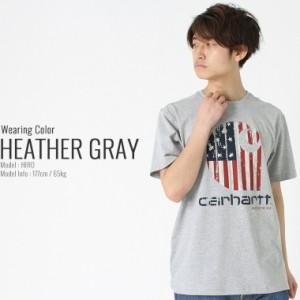 Carhartt カーハート tシャツ メンズ 半袖 半袖tシャツ 大きいサイズ メンズ tシャツ アメカジ tシャツ ロゴtシャツ