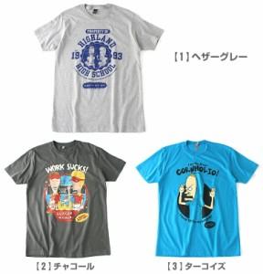 BEAVIS AND BUTT-HEAD ビーバス・アンド・バットヘッド │ tシャツ メンズ 半袖 プリント 半袖tシャツ プリントtシャツ メンズ