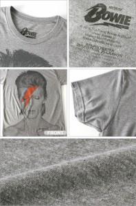David Bowie デヴィッド・ボウイ │ tシャツ メンズ 半袖 半袖tシャツ ロックtシャツ バンドtシャツ プリントtシャツ グラムロック