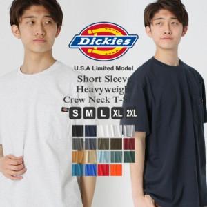 Dickies ディッキーズTシャツ メンズ 半袖 アメカジ tシャツ メンズ ポケット Tシャツ 無地